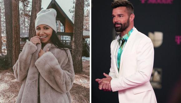 """Ricky Martin y Naya Rivera cantaron juntos """"La isla bonita"""" de Madonna en un episodio de """"Glee"""". (@rickymartin / @nayarivera)."""
