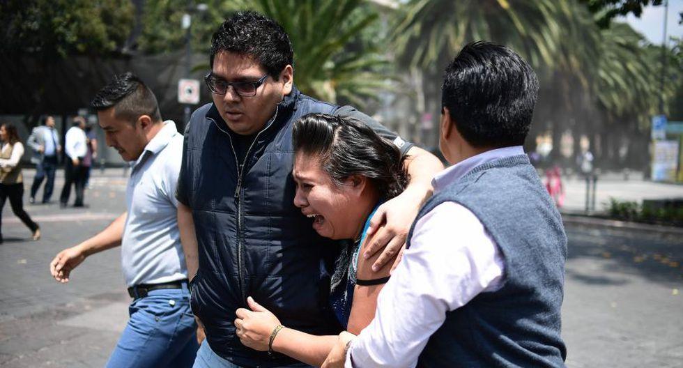 Terremoto en México. Ciudad de México. (Foto: AFP)