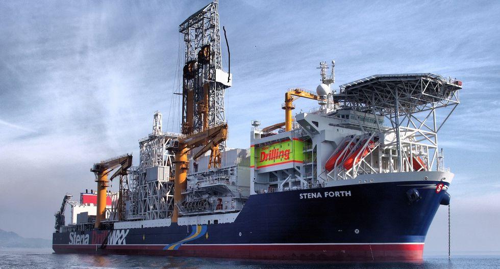 El barco de perforación Stena Forth llevará a cabo la primera perforación en aguas profundas del Perú (Stena Forth).