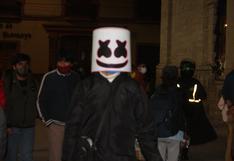 Junín: calles de Huancayo lucieron repletas de personas disfrazadas por Halloween pese al estado de emergencia