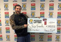 EEUU: joven ganó medio millón de dólares en la lotería días después de haberlo soñado