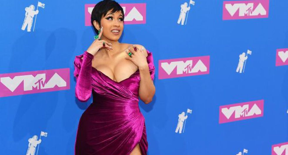 La rapera de origen dominicano Cardi B hará su primera aparición pública tras convertirse en madre. (Fotos: AFP)