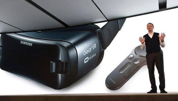 Gear VR, los nuevos lentes de realidad virtual de Samsung
