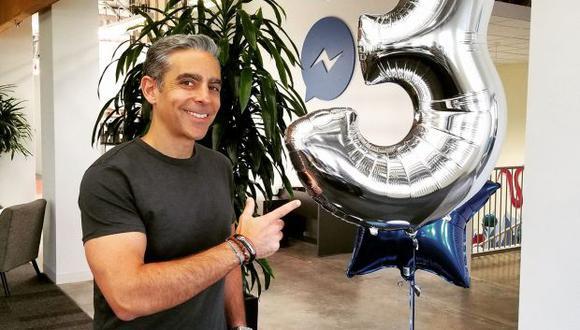 Esta no es el primer acercamiento del ahora ex CEO de Messenger a las criptomonedas. (Foto: Facebook)