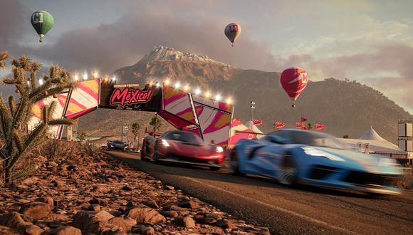 Forza Horizon 5, el galardonado videojuego de Xbox, ha sido ambientado en México. (Imagen: Xbox / Forza Horizon 5 / Captura)