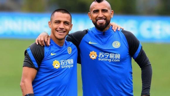 Alexis Sánchez y Arturo Vidal no seguirían en la próxima temporada en el 'Nerazzurri' por los sueldos altos que perciben. (Foto: Inter de Milán)