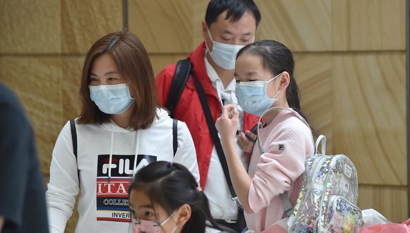 Neumonía de Wuhan. (Foto: PETER PARKS / AFP)