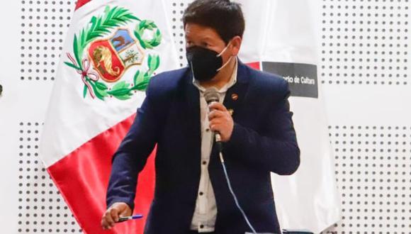 El titular de la PCM, Guido Bellido,continuó con la confrontación pública al titular de Relaciones Exteriores, Óscar Maúrtua | Foto: PCM