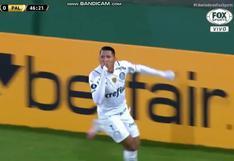 Defensa y Justicia vs. Palmeiras: Rony definió entre las piernas de Unsain para el 1-0 [VIDEO]