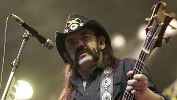 Lemmy Kilmister creó Motörhead en 1975 tras el final de otra conocida banda suya: Hawkking. (Foto: EFE)