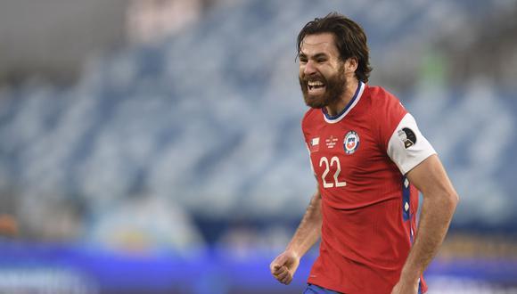 Chile venció 1-0 a Bolivia por la segunda fecha de la Copa América 2021. (Foto: AFP)