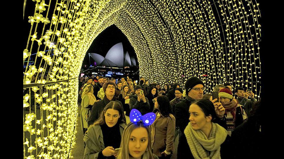 Vivid Sydney, un festival lleno de luces y color en Australia - 7