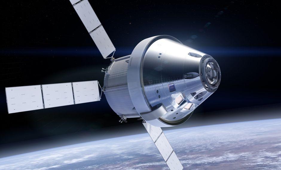 Ilustración de Orion. (Ilustración: NASA)