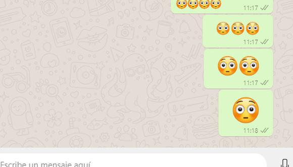 ¿Alguna vez alguien te mandó esta carita sonrojada? Conoce qué es lo que quiso decirte en WhatsApp. (Foto: Mag)