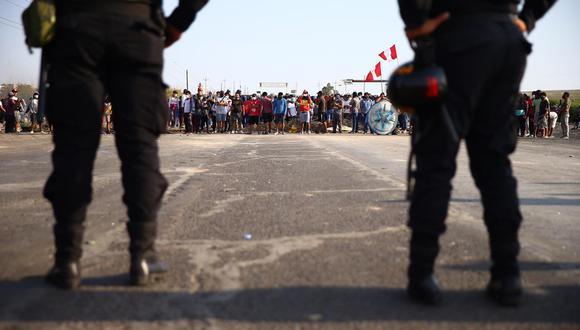 Paro agrario en Ica: advierten que falta de representatividad de trabajadores aplaza inicio de la tregua. (Foto: Hugo Curotto / GEC)