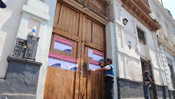 La Municipalidad de Lima clausuró La Casona por infirngir la ordenanza N°2160. (Difusión)