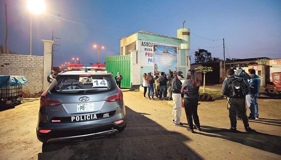 Los integrantes de la organización, incluido el cabecilla Diosdado Navarro, cumplirán 15 días de detención preliminar. Luego, la fiscalía solicitará prisión preventiva para ellos (Foto: Ministerio del Interior).