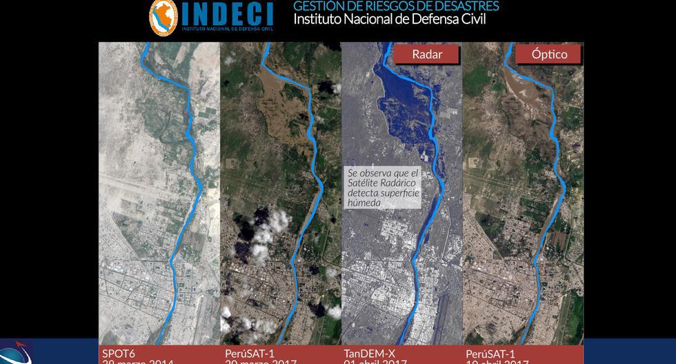 Estas son las imágenes captadas por el satélite Perú Sat-1 desde el espacio