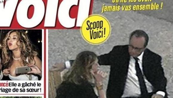 Francia: El escándalo de las fotos de Hollande con Julie Gayet