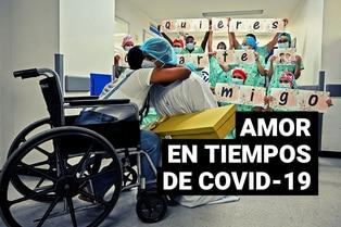 Paciente recuperada de la COVID-19 acepta casarse tras dar a luz en coma