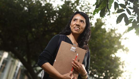 Norma Salinas es ahora investigadora del INTE PUCP (Foto: PUCP)