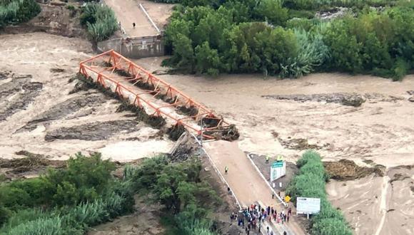 Se declara el estado emergencia en varios distritos de Moquegua. (Foto: Andina)
