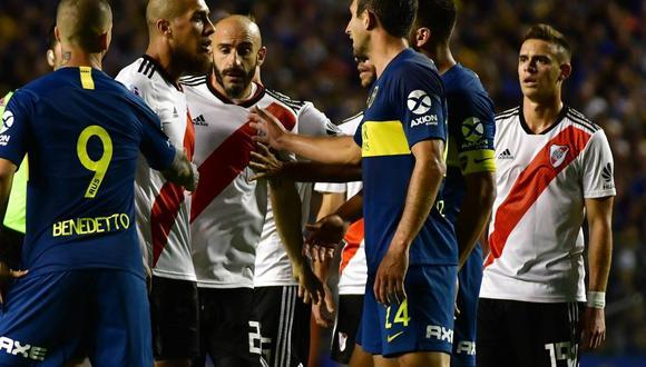 Boca Juniors y River Plate se miden este domingo por la final de la Copa Libertadores 2018 en un duelo que paralizará al mundo entero. Entérate los horarios en los diferentes continentes. (Foto: Clarín)