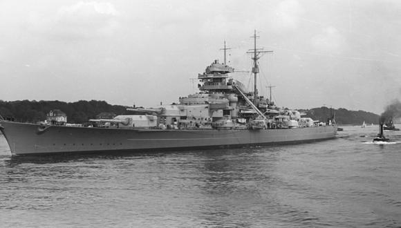 Durante la Segunda Guerra Mundial la presencia intimidante del Bismarck y su potente artillería causaron desconcierto y serios estragos en la flota británica. (Foto: Bundesarchiv, Bild 193-04-1-26/Photographer: o.Ang)