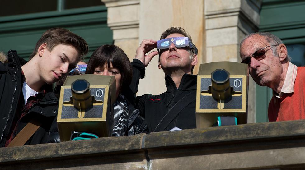 Los mejores momentos del primer eclipse solar del 2015 - 10