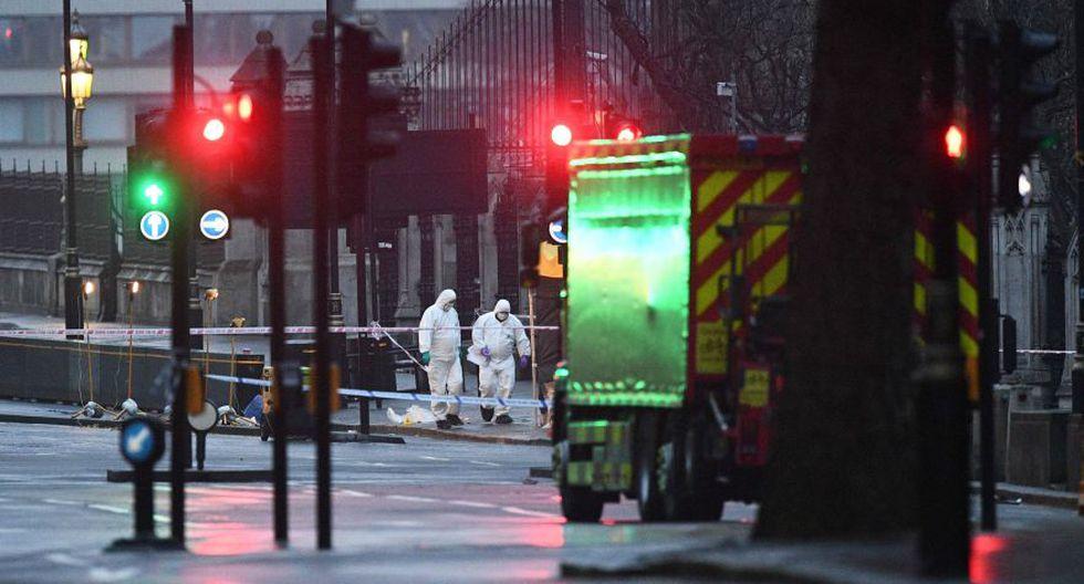Atentado en Londres: el impresionante trabajo de los forenses - 13