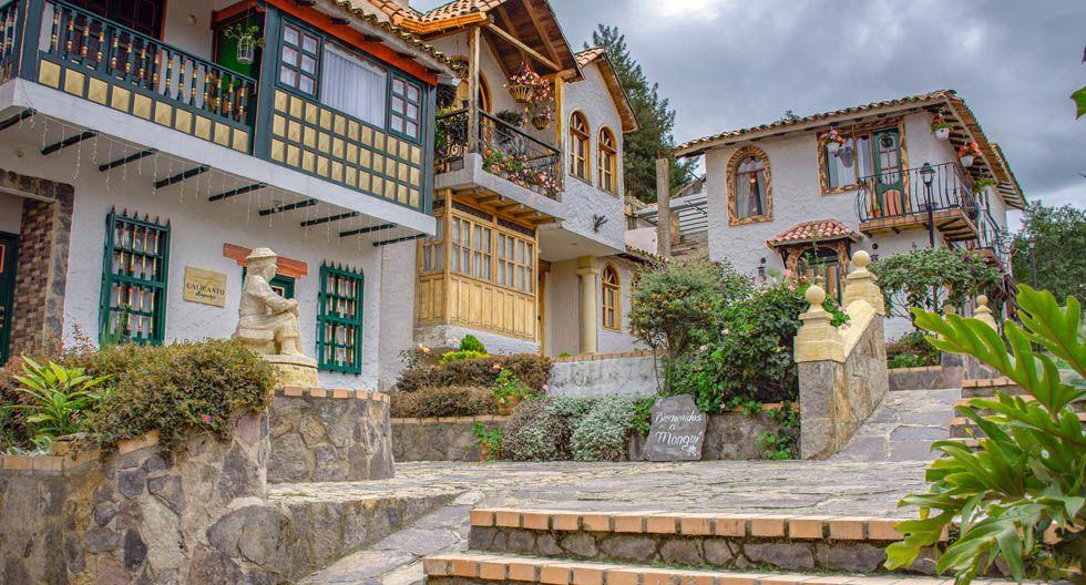 Monguí, Colombia. Se ubica en Bocoyá, uno de los 32 departamentos de Bogotá y es descrito como un lugar de ensueño, puesto que regala paisajes sorprendentes, llenos de arquitectura colonial. (Foto: Shutterstock)