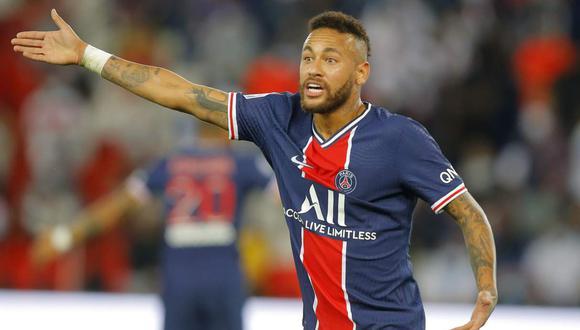 PSG respaldó a Neymar mediante un comunicado. (Foto: AP)