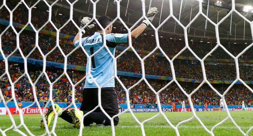 Keylor Navas, el adiós de una estrella más de Brasil 2014 - 1