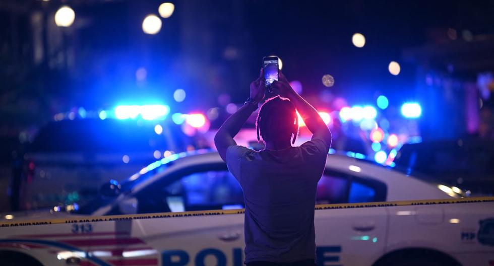 Shooting in Washington: Gunmen open fire in a street, leaving at least three dead and three injured