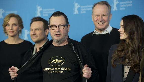 Lars von Trier se venga de Cannes en la Berlinale