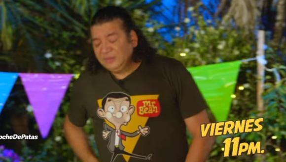 """Carlos Vílchez llora en despedida de """"Noche de patas"""" tras aceptar irse a ATV con Jorge Benavides. (Foto: Captura Facebook)."""