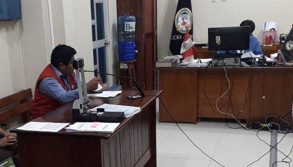 El juez declaró fundada la denuncia para que el fiscal Civil y de Familia de Tambopata inicie el proceso penal conforme a los dispuesto. (Foto: Corte Superior de Justicia de Madre de Dios)