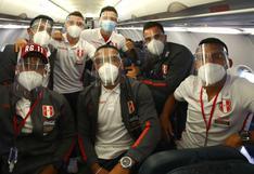 La Selección Peruana partió rumbo a Quito para enfrentar a Ecuador por las Eliminatorias [FOTOS]