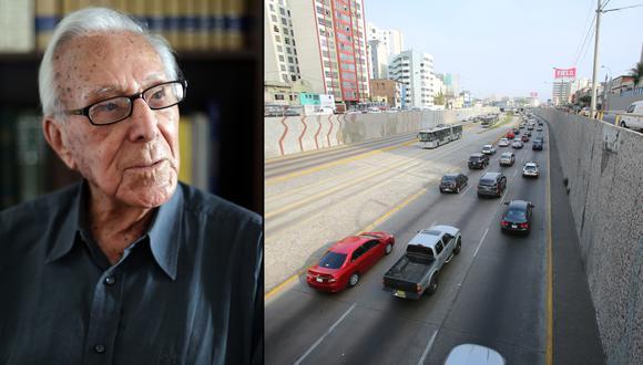 El proyecto busca homenajear a Luis Bedoya Reyes, quien impulsó la construcción de una vía de 66 cuadras que une Cercado de Lima, Lince, San Isidro, Surquillo, Miraflores y Barranco. (GEC)