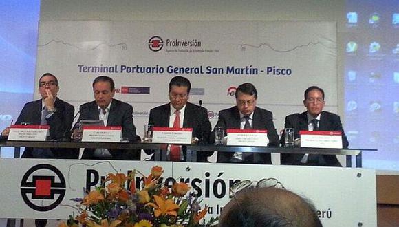 Consorcio Paracas se adjudicó el proyecto del Puerto de Pisco