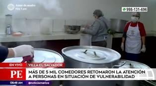 Villa El Salvador: comedores aplican nuevas medidas de bioseguridad para evitar casos de COVID-19