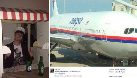 """Pasajero de avión malasio: """"¿Si el avión desaparece?"""""""