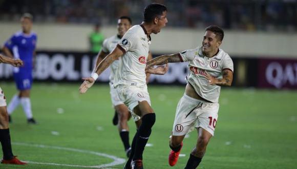 Universitario avanzó a la segunda ronda de la Copa Libertadores tras vencer 1-0 a Carabobo en Lima (Foto: Jesús Saucedo)