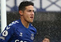 Carlo Ancelotti confirmó baja de James Rodríguez para el próximo juego del Everton por Premier League