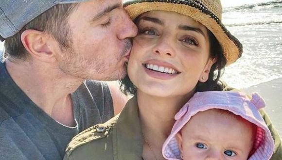 Aislinn Derbez y Mauricio Ochmann tienen una hija en común de dos años llamada Kailani  (Foto: Instagram)