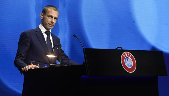 UEFA confirma investigación disciplinaria a Real Madrid, Barcelona y Juventus. (Foto: EFE)