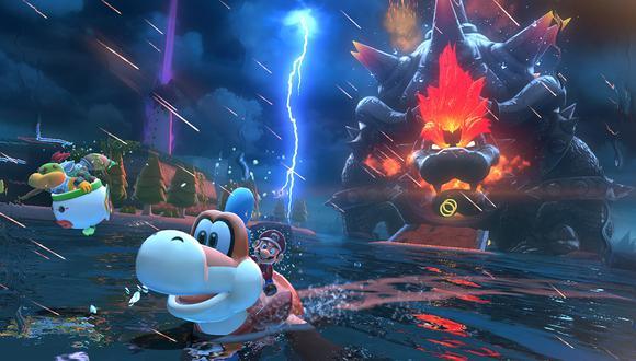 Super Mario 3D World + Bowser's Fury . (Imagen: Nintendo)