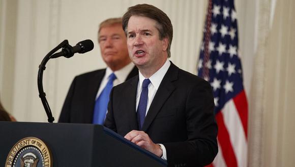 Brett Kavanaugh fue confirmado como magistrado de la Corte Suprema por 50 votos a favor y 48 en contra a principios de octubre, en la votación más ajustada desde 1881. (Foto: AP)