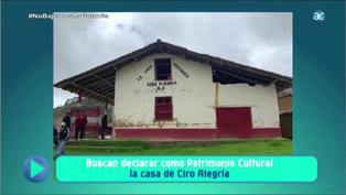 Buscan declarar como patrimonio cultural casa de Ciro Alegría