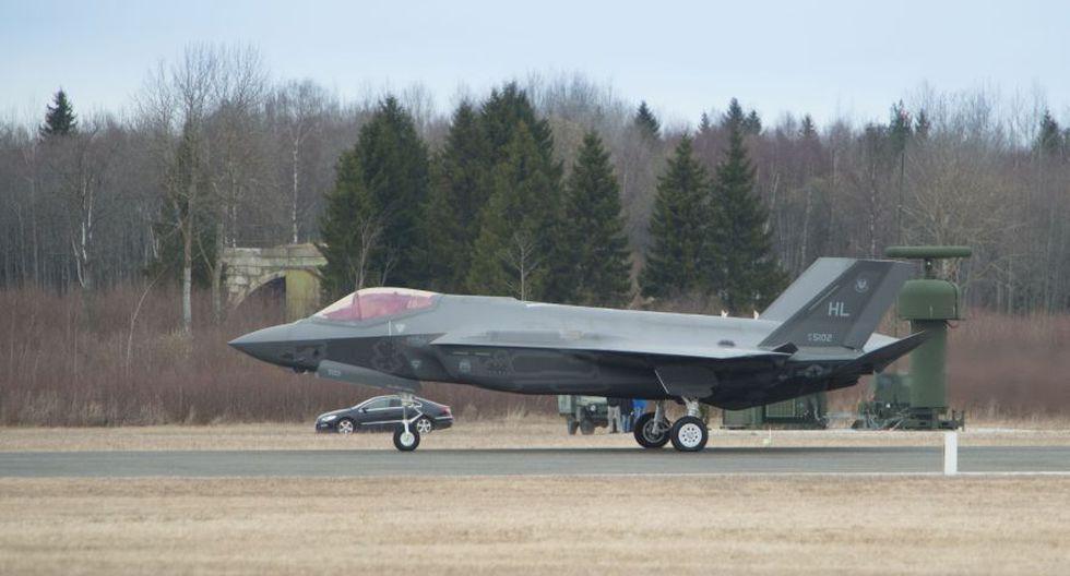 Los ultramodernos F-35 de EE.UU. que entrenan cerca de Rusia - 7